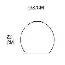 Rowan 22 susanne nielsen suspension pendant light  ebb and flow la101622  design signed nedgis 72425 thumb