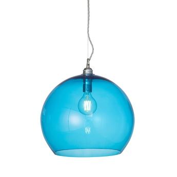 Suspension rowan 39 bleu piscine o39cm h39cm ebb and flow normal