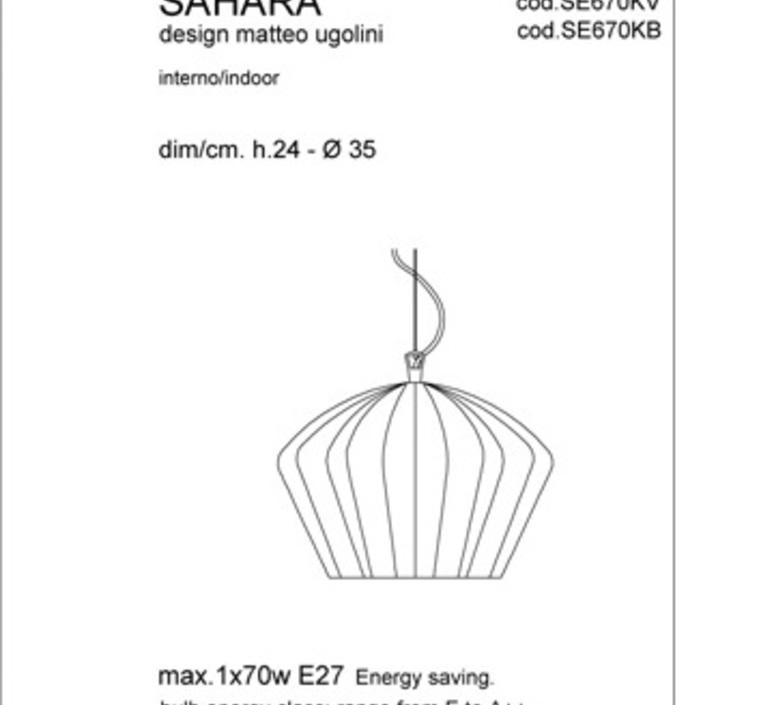 Sahara matteo ugolini karman se670kb luminaire lighting design signed 19649 product