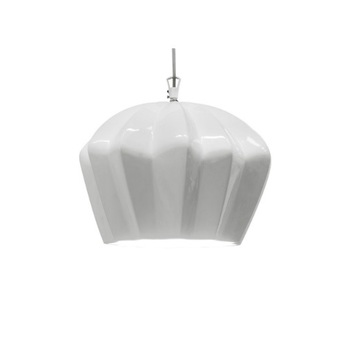 Suspension sahara blanc h24cm karman normal