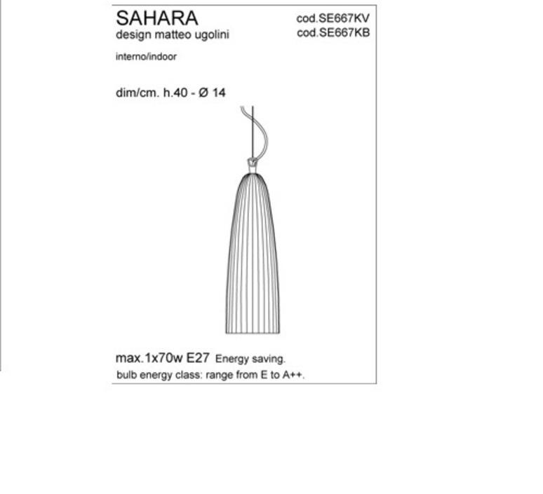 Sahara matteo ugolini karman se667kv luminaire lighting design signed 19610 product