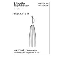 Sahara matteo ugolini karman se667kv luminaire lighting design signed 19610 thumb