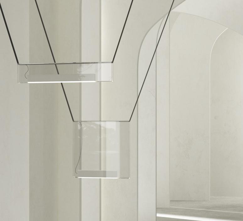 Sainte 02 studio lambert fils suspension pendant light  lambert fils ste02ececbkbkwlzt  design signed nedgis 114090 product