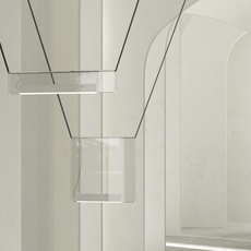 Sainte 02 studio lambert fils suspension pendant light  lambert fils ste02ececbkbkwlzt  design signed nedgis 114090 thumb
