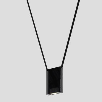 Suspension sainte 04 noir led 2700k 335lm l20cm h30 5cm lambert fils normal