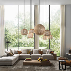 Sangha 30 studio dark suspension pendant light  dark 1010 1 02 001 01 02  design signed nedgis 68947 thumb