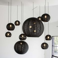 Sangha 30 studio dark suspension pendant light  dark 1010 1 02 001 01 02  design signed nedgis 68955 thumb