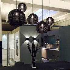 Sangha 30 studio dark suspension pendant light  dark 1010 1 02 001 01 02  design signed nedgis 68958 thumb