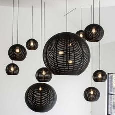 Sangha 40 studio dark suspension pendant light  dark 1010 2 02 001 01 02  design signed nedgis 117614 thumb