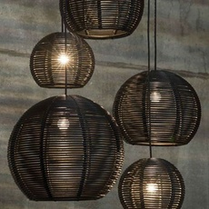 Sangha 40 studio dark suspension pendant light  dark 1010 2 02 001 01 02  design signed nedgis 117615 thumb