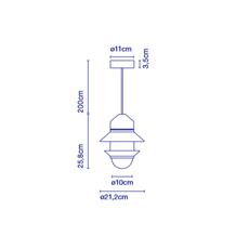Santorini studio sputnik suspension pendant light  marset a654 050   design signed 53005 thumb