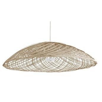 Suspension satelise gm natural beige o110cm forestier normal
