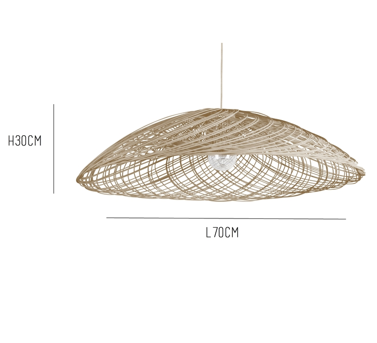 Satelise mm natural elise fouin forestier ef12170mna luminaire lighting design signed 27374 product