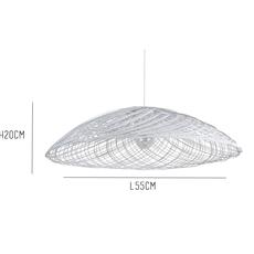 Satelise pm white elise fouin forestier ef12170swh luminaire lighting design signed 27386 thumb