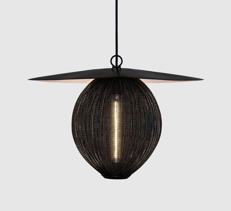 Satellite pendant midnight black  suspension pendant light  gubi 009 01101  design signed 36609 product