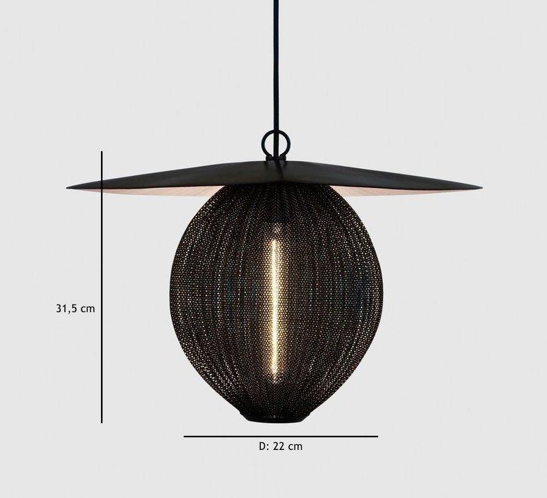 Satellite pendant midnight black  suspension pendant light  gubi 009 01101  design signed 37599 product