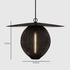 Satellite pendant midnight black  suspension pendant light  gubi 009 01101  design signed 37599 thumb