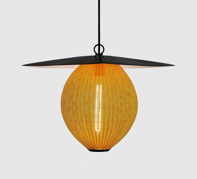 Satellite pendant midnight black  suspension pendant light  gubi 009 01104  design signed 36619 product