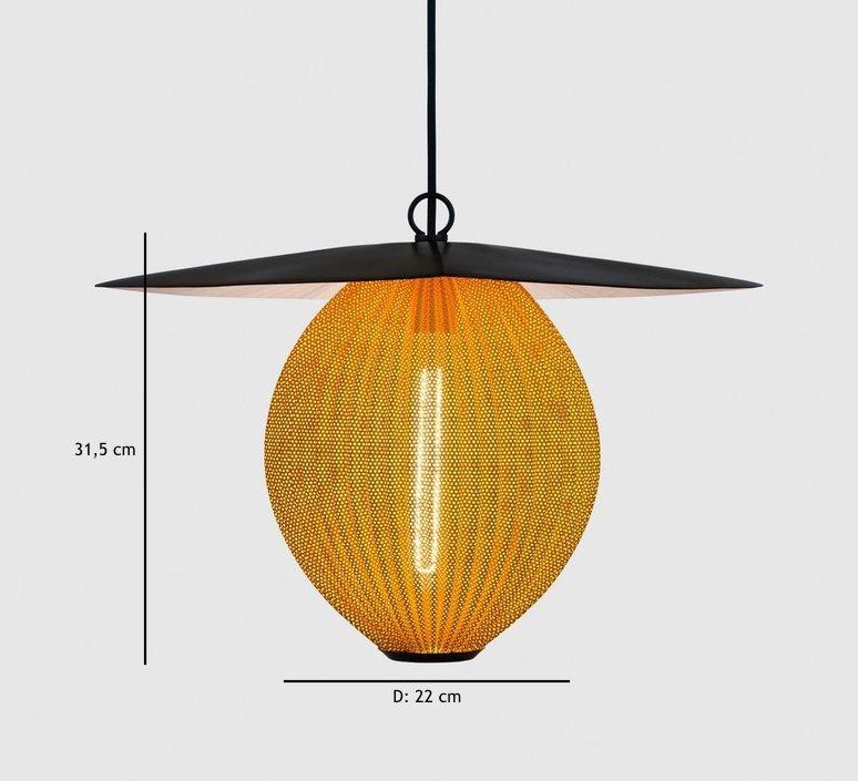 Satellite pendant midnight black  suspension pendant light  gubi 009 01104  design signed 37598 product