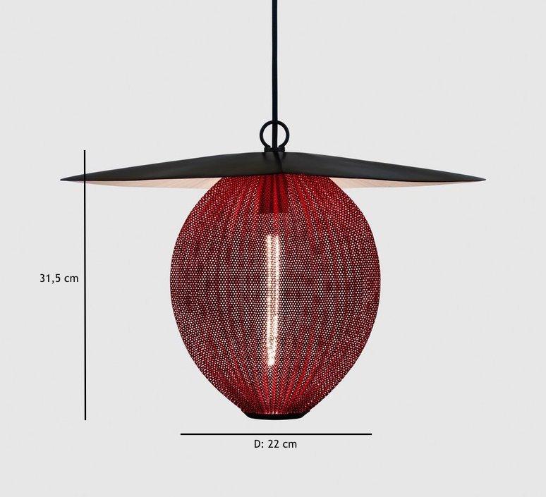 Satellite pendant midnight black  suspension pendant light  gubi 009 01103  design signed 37597 product