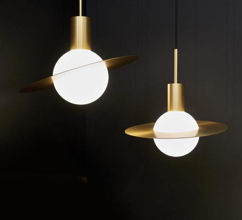 Saturne xl  suspension pendant light  cvl saturne xl  design signed 53527 product