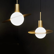 Saturne xs  suspension pendant light  cvl saturne xs  design signed 53522 thumb