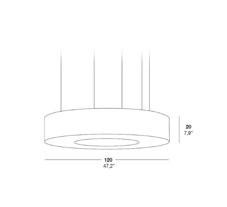 Saturnia sg oskar cerezo suspension pendant light  lzf saturnia sg dim 010 21  design signed 33773 product