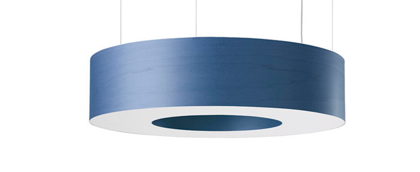 Suspension saturnia sm bleu o85cm h20cm lzf normal