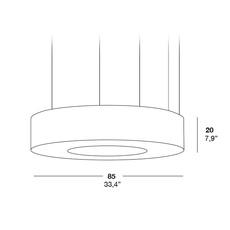 Saturnia sm oskar cerezo suspension pendant light  lzf saturnia sm dim 010 21  design signed 33770 thumb