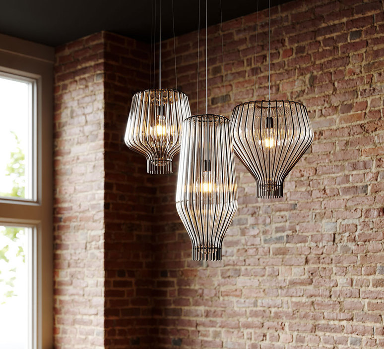 Saya l  suspension pendant light  fabbian f47a1700  design signed 51310 product