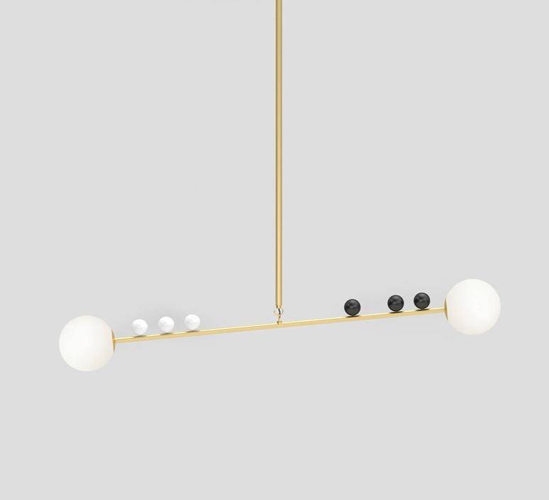 Scale gwendolyn et guillane kerschbaumer suspension pendant light  atelier areti 457ol p01 br01  design signed nedgis 120096 product