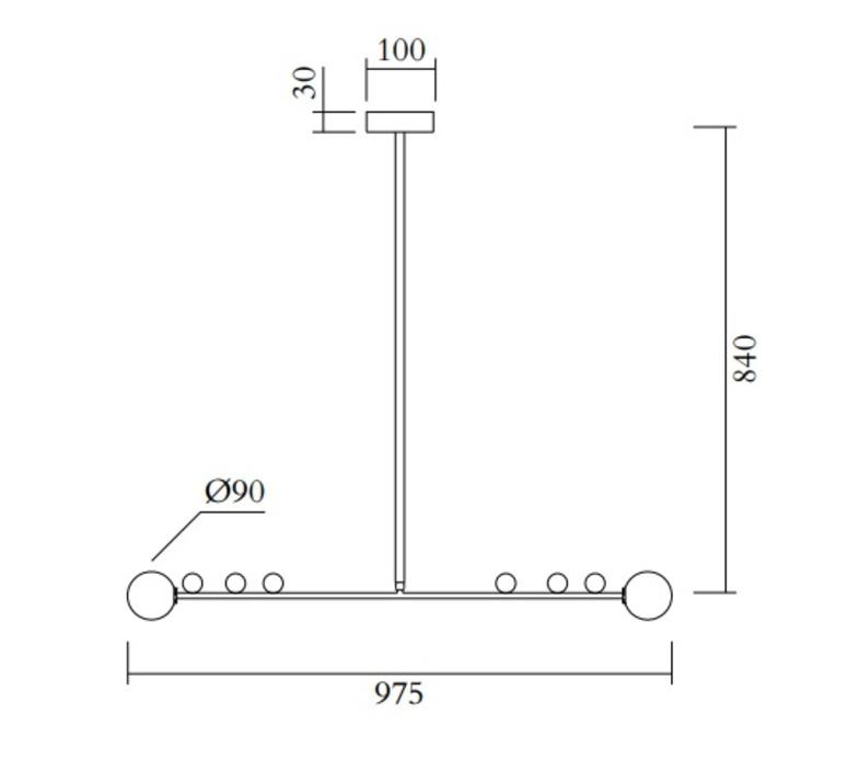 Scale gwendolyn et guillane kerschbaumer suspension pendant light  atelier areti 457ol p01 br01  design signed nedgis 120097 product