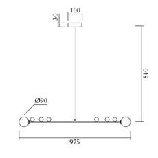 Scale gwendolyn et guillane kerschbaumer suspension pendant light  atelier areti 457ol p01 br01  design signed nedgis 120097 thumb