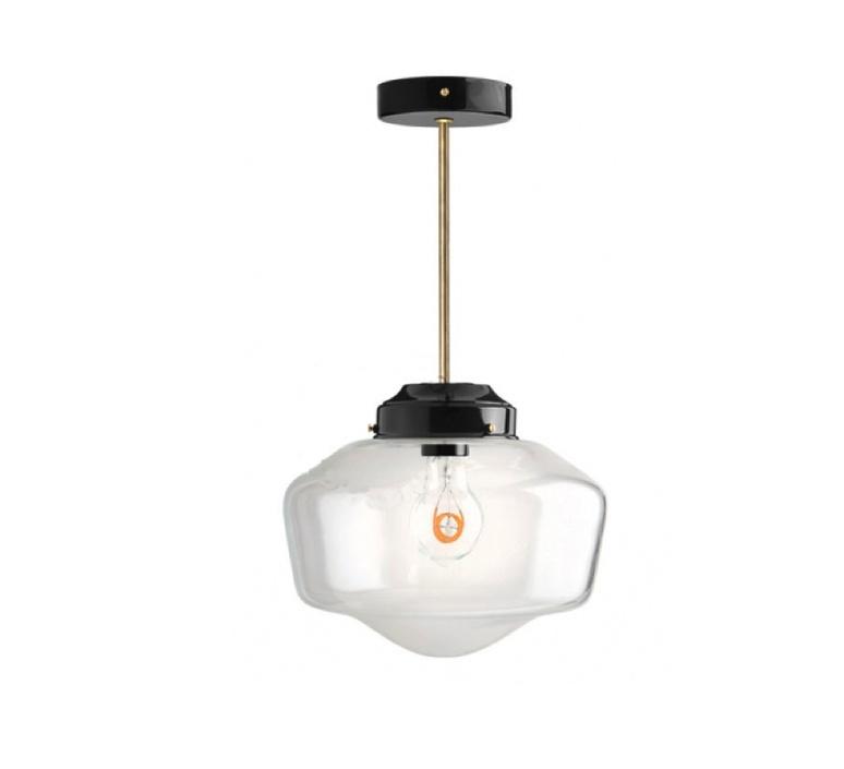 Schoolhouse studio zangra suspension pendant light  zangra light 128 005 b go glass l 001  design signed nedgis 115678 product