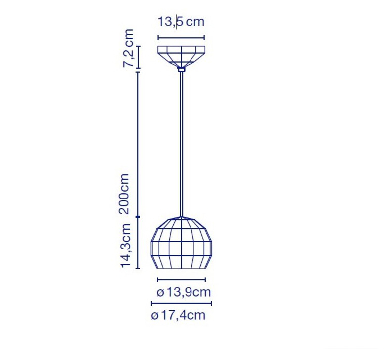 Scotch club 17 xavier manosa mashallah suspension pendant light  marset a656 001  design signed 43640 product