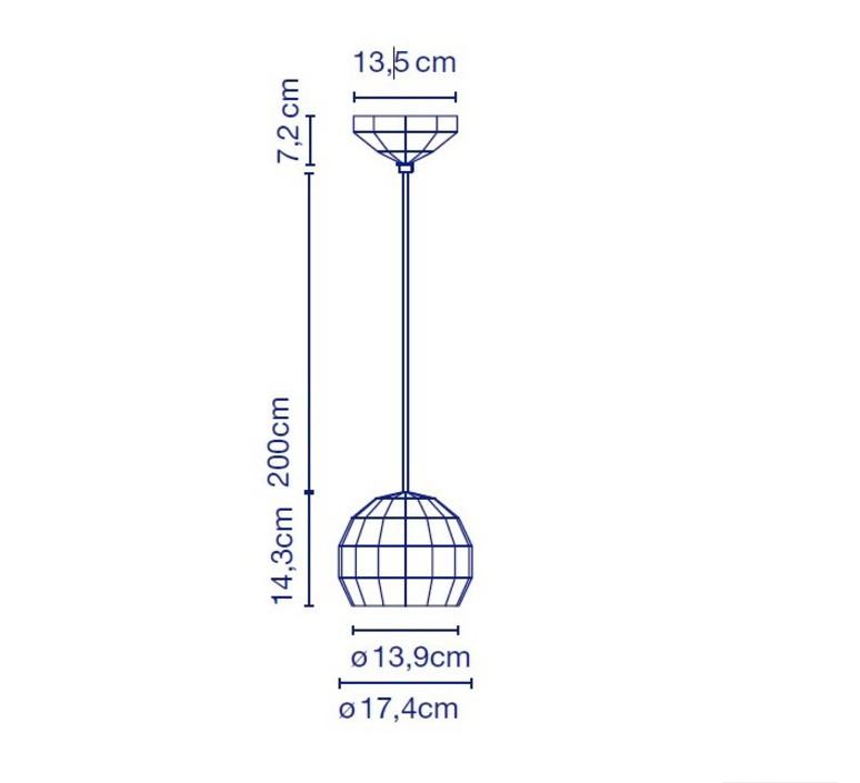 Scotch club 17 xavier manosa mashallah suspension pendant light  marset a656 008  design signed 43665 product