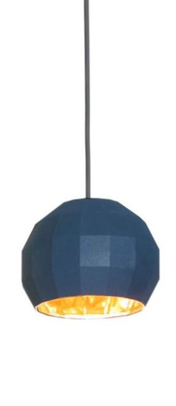 Suspension scotch club 26 bleu or o26 5cm h22 1cm marset normal