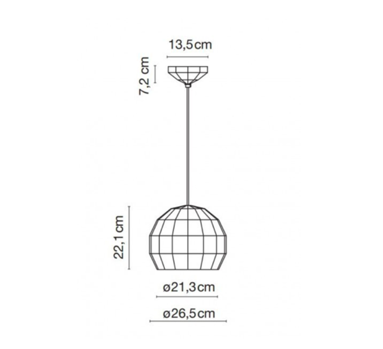 Scotch club 26 xavier manosa mashallah suspension pendant light  marset a656 136  design signed 43743 product