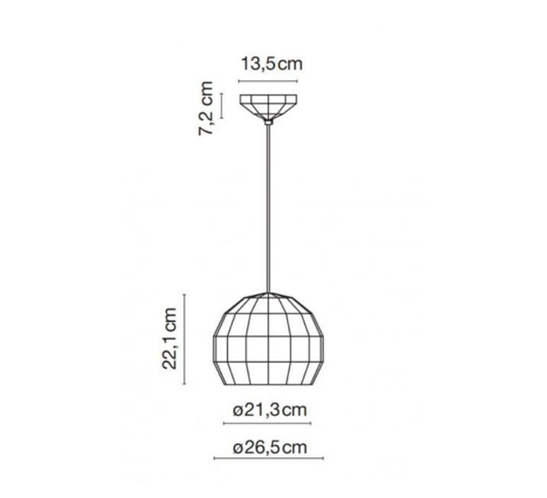 Scotch club 26 xavier manosa mashallah suspension pendant light  marset a656 135  design signed 43736 product