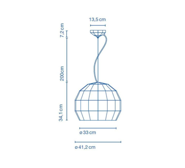 Scotch club 41 xavier manosa mashallah suspension pendant light  marset a656 139  design signed 43786 product