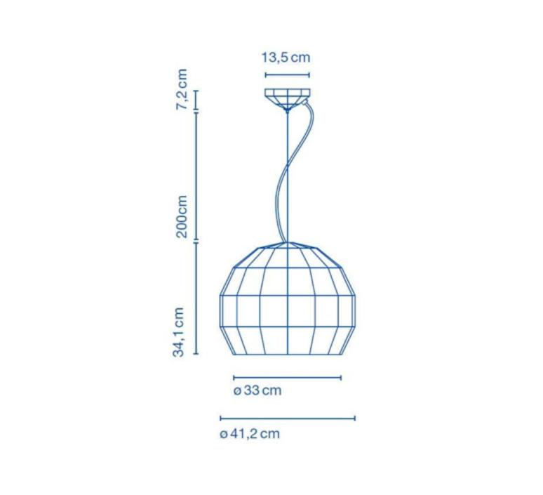 Scotch club 41 xavier manosa mashallah suspension pendant light  marset a656 145  design signed 43814 product