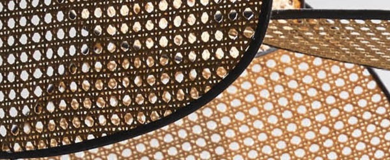 Suspension screen cannage naturel o100cm h45cm market set normal
