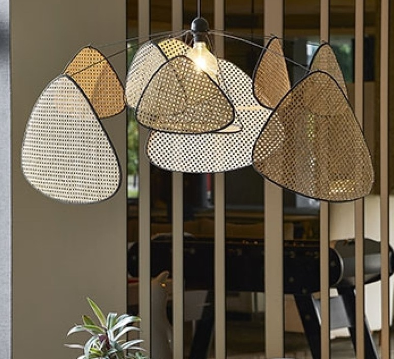 Screen cannage  suspension pendant light  market set 80145  design signed nedgis 64428 product