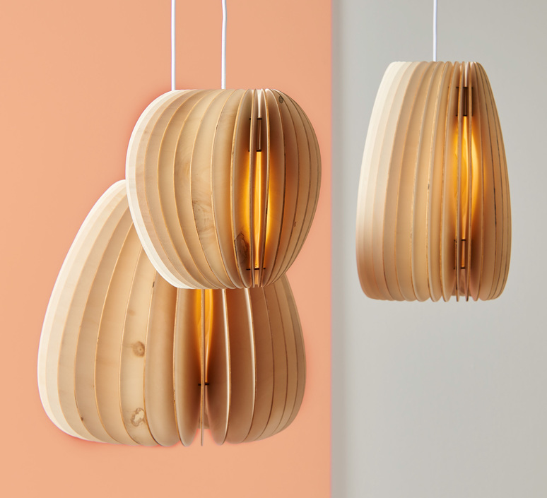 Secundum julia mulling et niklas jessen schneid secundum poplar plywood luminaire lighting design signed 25013 product