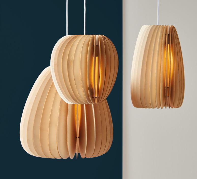 Secundum julia mulling et niklas jessen schneid secundum poplar plywood luminaire lighting design signed 25014 product