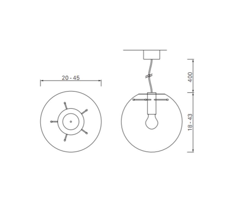 Selene 20  sandra lindner classicon selene20noir luminaire lighting design signed 29168 product