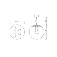 Selene 20  sandra lindner classicon selene20noir luminaire lighting design signed 29168 thumb