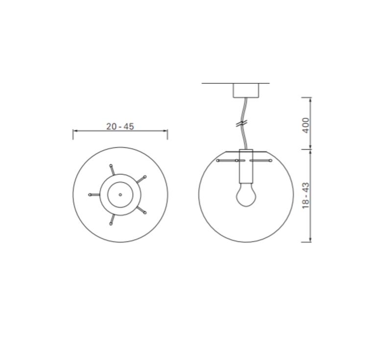 Selene 25 sandra lindner classicon selene25cuivre luminaire lighting design signed 29210 product
