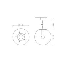 Selene 25 sandra lindner classicon selene25cuivre luminaire lighting design signed 29210 thumb