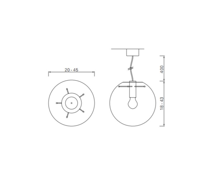 Selene 35 sandra lindner classicon selene35cuivre luminaire lighting design signed 29218 product